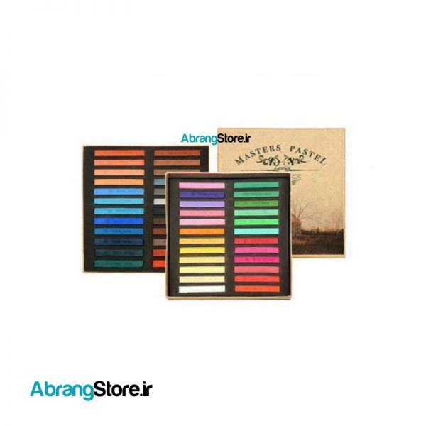 پاستل گچی مسترز ماریس 48 رنگ | Maries Masters Pastel
