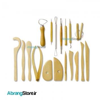 ابزار کامل مجمسه سازی ۱۸ تکه شین هان کره _ Shinhanart Modeling tools 1