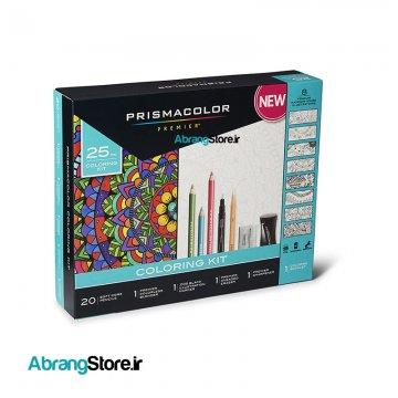 ست رنگ آمیزی پریسماکالر ۲۵ عددی   Prismacolor Premier Coloring Kit