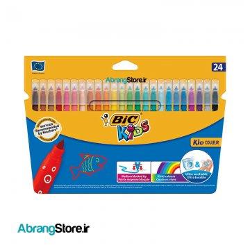 ماژیک کیدکالر بیک ۲۴ رنگ | BIC Kid couleur