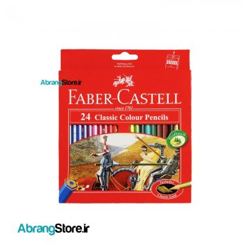 مدادرنگی فابرکاستل کلاسیک ۲۴ رنگ 1