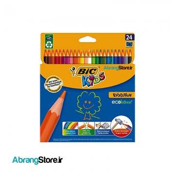 مدادرنگی بیک اکولوشن ۲۴ رنگ | BIC ecolutions ColouringPencil