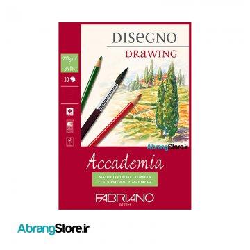 بلوک مقوا طراحی فابریانو FABRIANO Accademia | A3