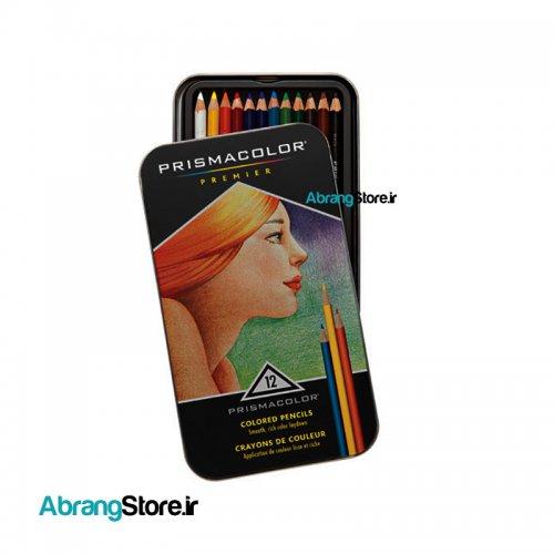 مدادرنگی پریسماکالر پریمیر ۱۲ رنگ   Prismacolor Colored Pencils