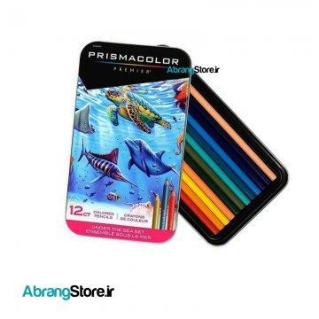 مدادرنگی پریسماکالر پریمیر ۱۲ رنگ Under The Sea Set