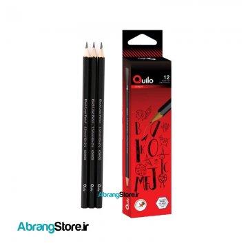 مداد سیاه کویلو ۱۲ عددی