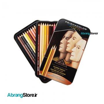 مدادرنگی پریسماکالر پریمیر رنگ پوست ۲۴ رنگ | Prismacolor Colored Pencils