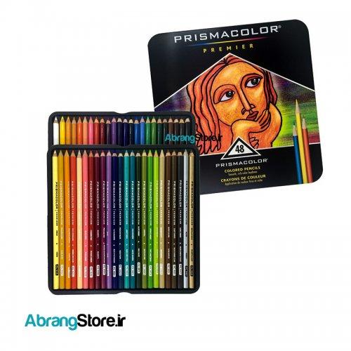 مدادرنگی پریسماکالر پریمیر ۴۸ رنگ   Prismacolor Colored Pencils