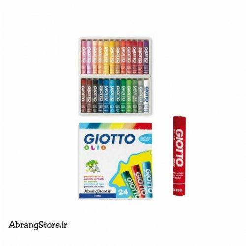 پاستل روغنی جیوتو ۲۴ رنگ | Giotto Olio