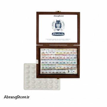 آبرنگ اشمینک فوق آرتیست ۴۸ رنگ جعبه چوبی