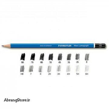 مداد طراحی لوموگراف استدلر | Staedtler Mars Lumograph