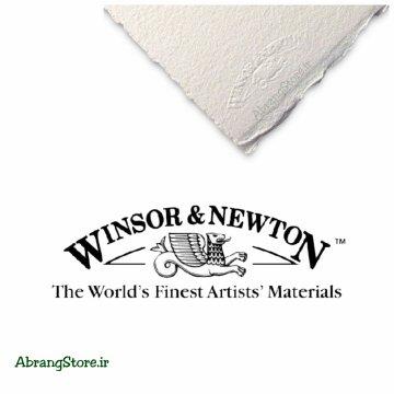 مقوا ۳۰۰گرم کتان وینزور سری آرتیست بافت راف | WinsorNewton Rough Artist Watercolor paper
