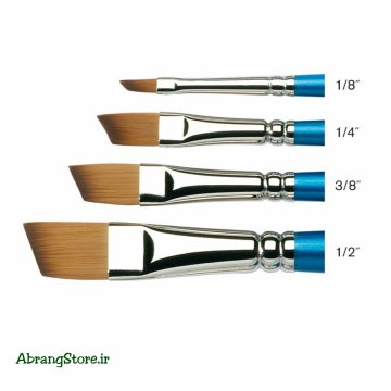 قلم مو سر کج وینزور ۶۶۷ | Winsor & Newton Cotman Watercolor Brush - Angled