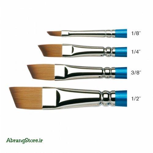قلم مو سر کج وینزور ۶۶۷ | Winsor & Newton Cotman Watercolor Brush - Angled