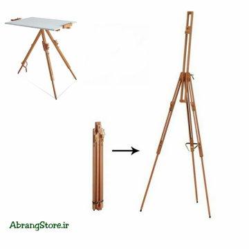 سه پایه تاشو چوبی