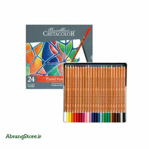 مدادپاستل کرتاکالر ۲۴ رنگ