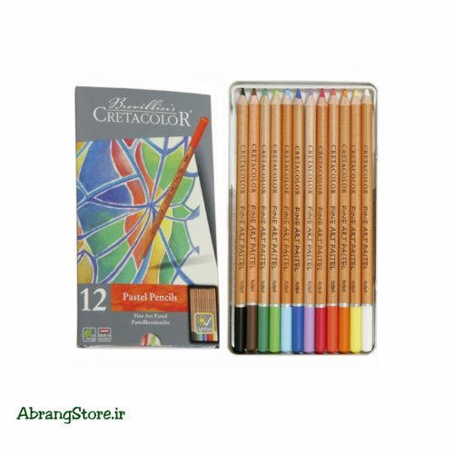مدادپاستل کرتاکالر ۱۲ رنگ