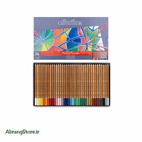 مدادپاستل کرتاکالر ۳۶ رنگ