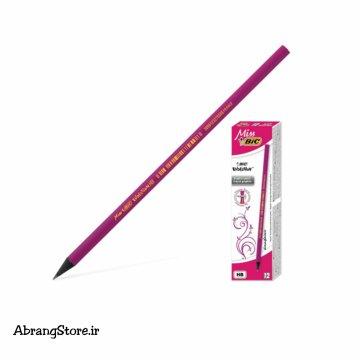 مداد سیاه بیک میس ۱۲ عددی