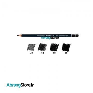 مداد طراحی استدلر لوموگراف بلک | Staedtler Mars Lumograph Black