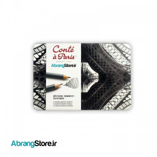ست مداد طراحی کنته ۱۲ عددی