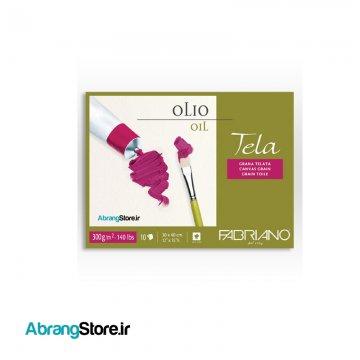 بلوک رنگ روغن تلا فابریانو | Fabriano Tela oil