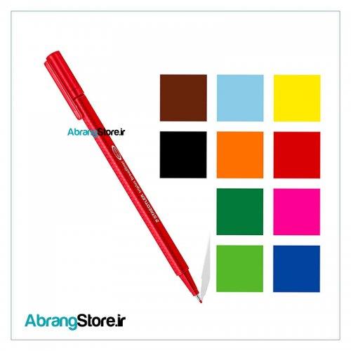 روان نویس تری پلاس نوک نمدی 0.8 استدلر 10 رنگ