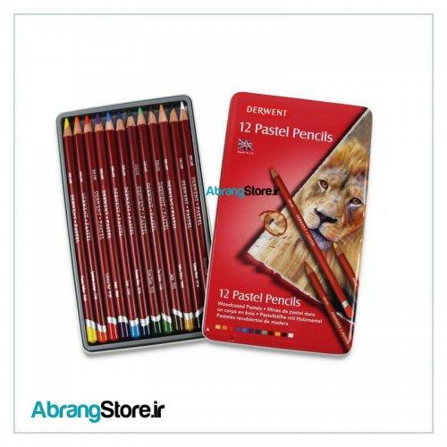مداد پاستل درونت 12 رنگ