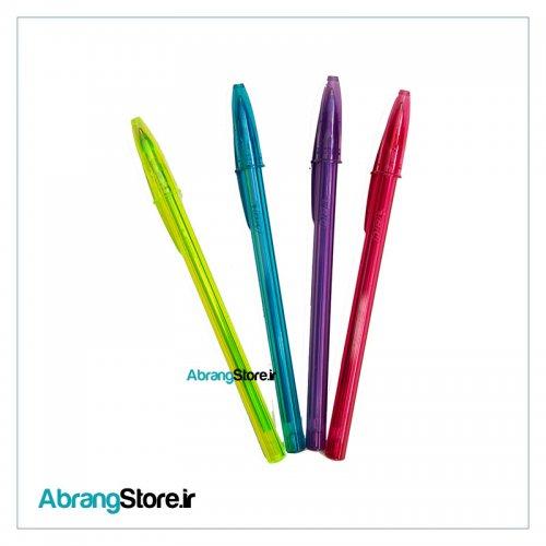 خودکار فشن بیک 4 رنگ | Bic Fashion Ball Pen