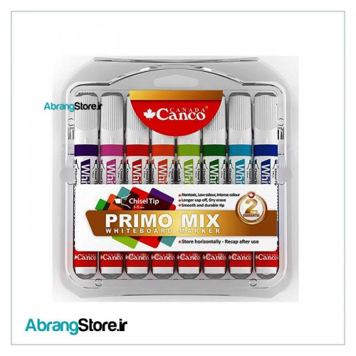 ماژیک وایت برد کنکو Primo Mix بسته 8 رنگ