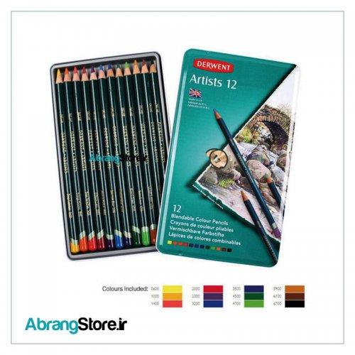 مدادرنگی آرتیست درونت 12 رنگ